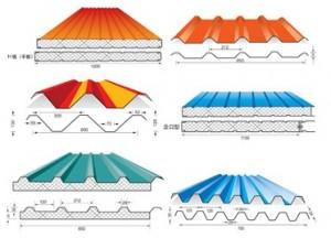 استفاده از انواع مدل ساندویچ پانل-ضخامت عایق ساندویچ پانلها